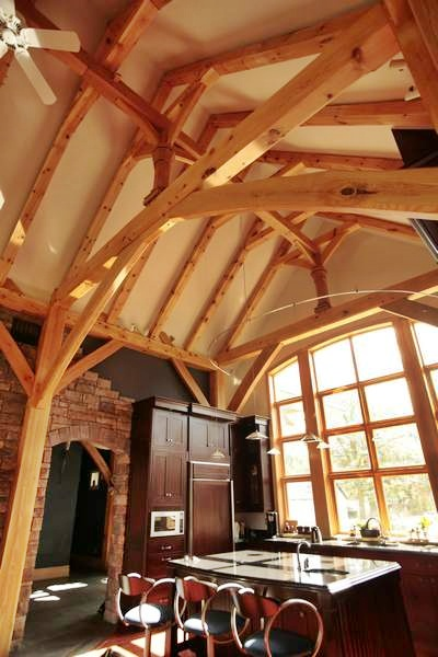 <b>Ottawa, Ontario</b><br>Timber framed kitchen