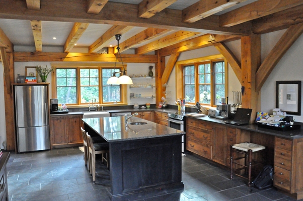 <b>Hudson, Quebec</b><br>Timber framed kitchen